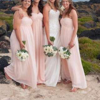 Bridesmaid Dresses- Strapless Chiffon