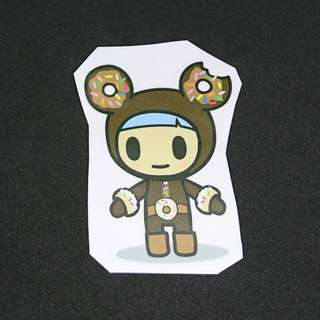 TKDK Tokidoki Water Proof Sticker