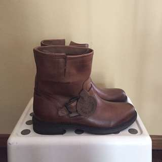 REPRICED - Ovye Leather Boots
