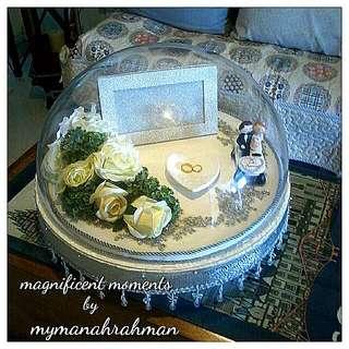 Gubahan Hantaran. Exclusive Ring Tray.
