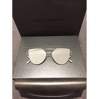 GENTLE MONSTER Love Punch Sunglasses - Silver