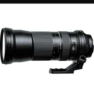 Tamron SP 150-600mm F5-6.3 Di VC USD Lens
