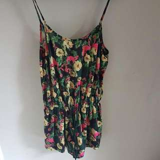 ZARA JUMPSUIT FLOWER