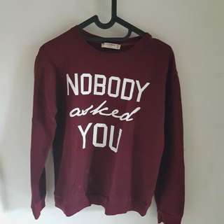 PULL&BEAR SWEATER TUMBLR