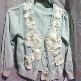 Blazer With Ribbon At The Back