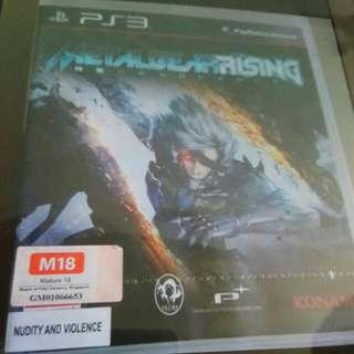 Brand New Metal Gear Rising Revengeance