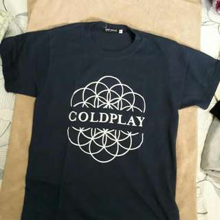 Coldplay Shirt (Repriced!)