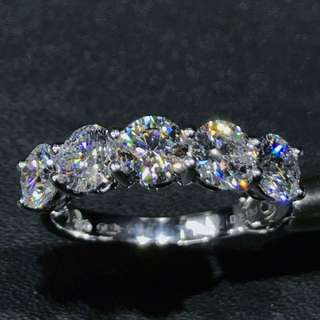 18K白金鑽石戒指/18K Gold Diamond Ring