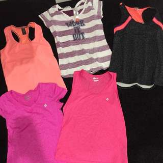Bunch Of Active Wear Size 10-12