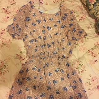 泰國雪紡裙 有打底 Dress From Thailand 💕