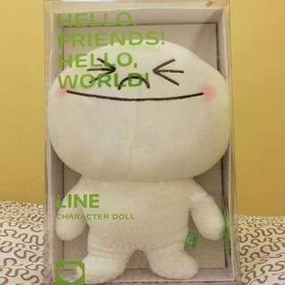 Line Character Doll - Moon