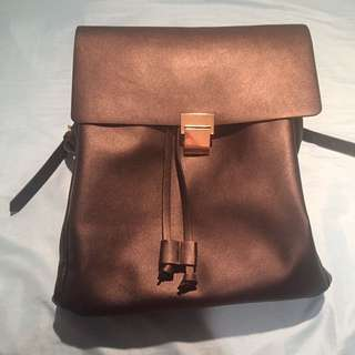 Zara Black Backpack