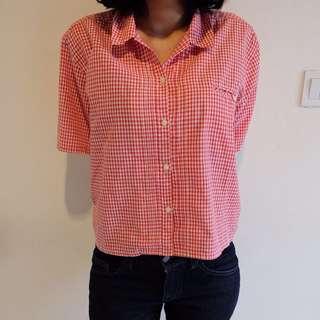 Square Pattern Shirt