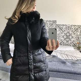FOREVER NEW FEATHER AND DOWN COAT WINTER SNOW JACKET SIZE 12 FREE POSTAGE! + Any Other Items Free!!