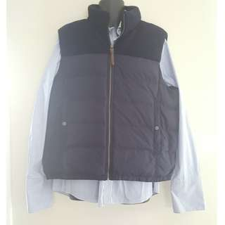 Trenery Navy Puffer Vest  'Price Negotiable'