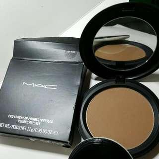 MAC Pro Longwear Powder /Pressed Poudre Pressee Dark Plus