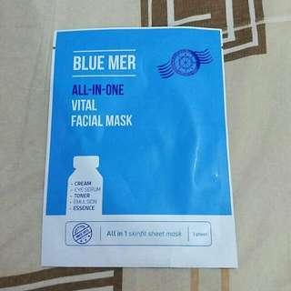 Blue Mer Facial Mask (Titipan Teman)
