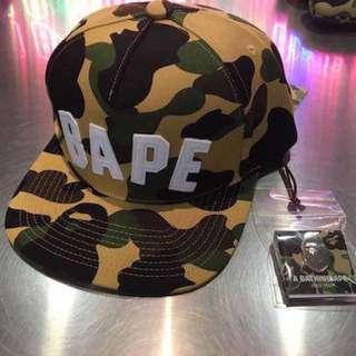 BAPE 1ST CAMO CAP