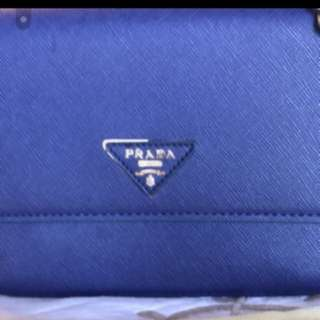 NA Royal Blue Prada Bag
