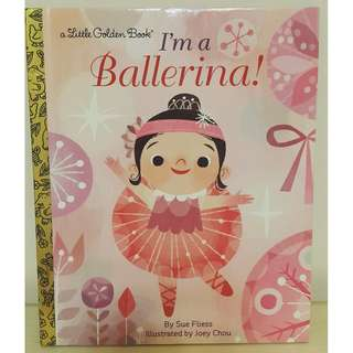 原文童書  I'm a Ballerina!  (作者: Sue Fliess)  書籍/童書