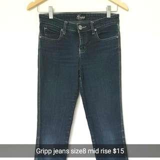 Gripp Skinny Leg Size8