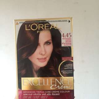 Loreal Excellence Creme Mahogany Copper Brown