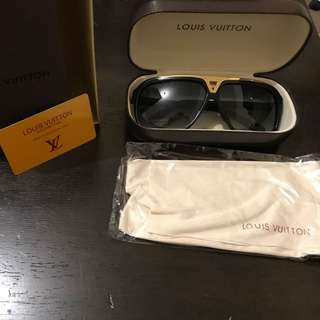 Black Louis Vuitton Evidence Sunglasses AAAA+
