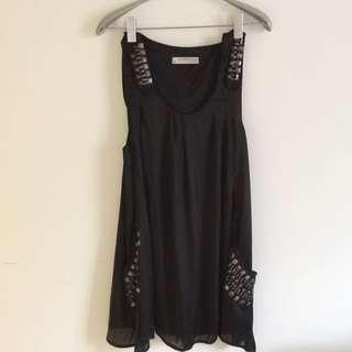 2%附牌 黑色洋裝