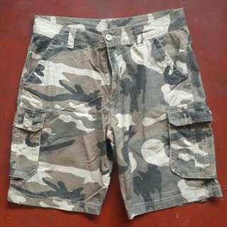Camouflage Shorts 6 Pocket