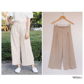 Tweed Square Pants 1