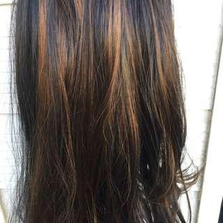 2 Women's  hair wig