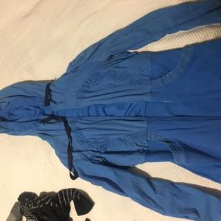 Lululemon Royal Blue Running Jacket Reversible