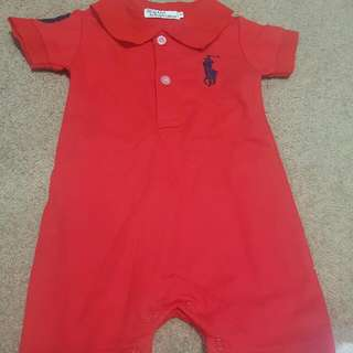FREE POSTAGE Polo Ralph Lauren All In One 3-6 Months