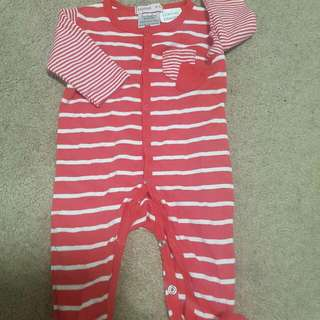 FREE POSTAGE Papoose Size 0000 All In One Suit