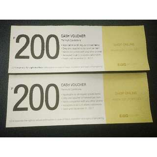 Cash Voucher Celine CLN worth 400 Pesos