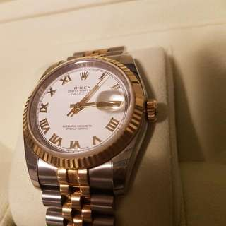 ROLEX MENS OYSTER PERPETUAL DATEJUST II
