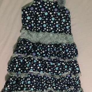 Teaberry Polkadot Dress