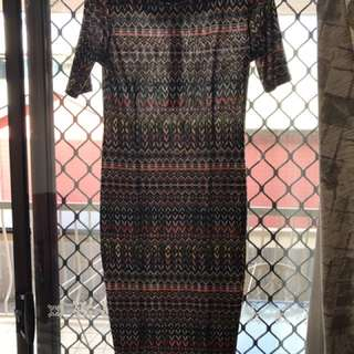 Colour Full Temt Dress