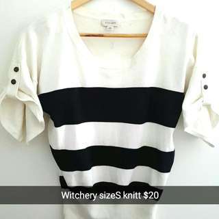Witchery Size8 Top