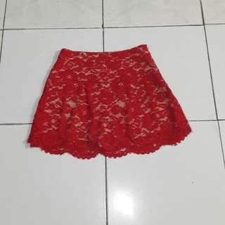 Reprice By21 Lace Skirt From 65k To 35k