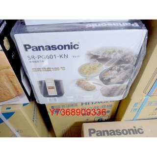 現貨~*Panasonic國際*微電腦壓力鍋【SR-PG601】...可自取!