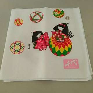 日本風手帕
