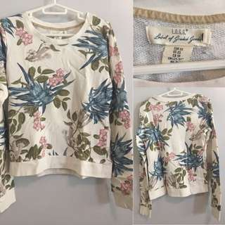 Forever21 Floral Sweater