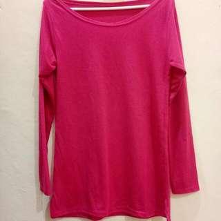 Loose Top Pink