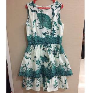 Short Dress Batik