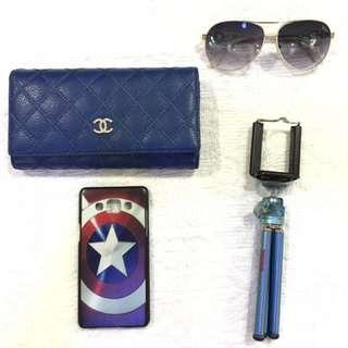 channel blue wallet