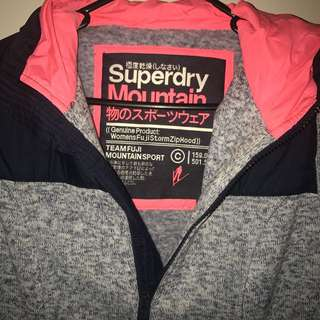 Superdry Mountain Zip Hood