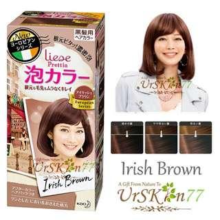 Liese Prettia Bubble Hair Color #Irish Brown