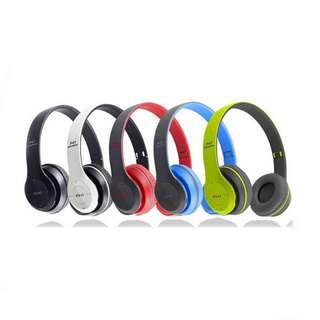 P47 Foldable Bluetooth Headphones