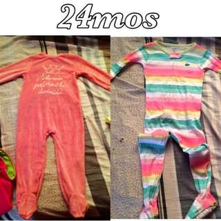 Carter's Baby Frogsuit Pajama Onesie 24M NWOT